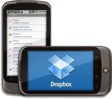 Afbeelding: 6/6 6. Dropbox op Andriod